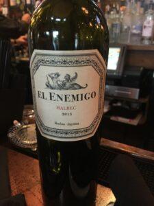 El Enemico wine
