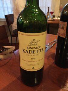 Kadette wine