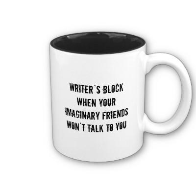 Writer's block, defined…